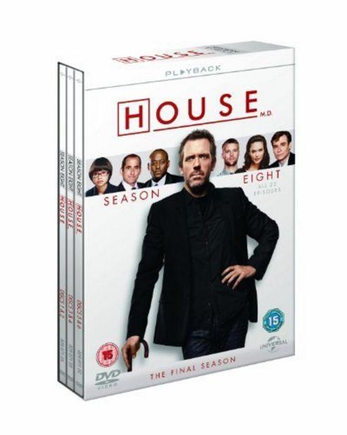 House - Series 8 - Complete (DVD Boxset)