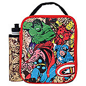 Marvel Avengers Lunch Bag and Water Bottle Set