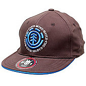 Element Elemental Kids Flat Cap - Bear Brown - Brown