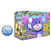 Stretchkins Classic Pink and Purple Bear Soft Toy