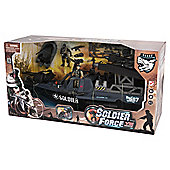 Soldier Force Tornado Assault Boat Set