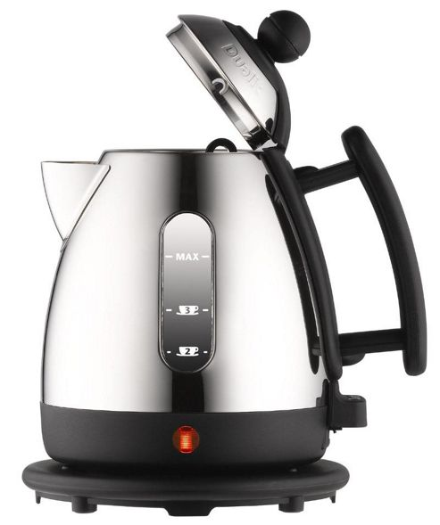 Dualit 72200 1 litre Mini Jug Kettle Polished Stainless Steel and Black