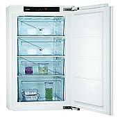 AEG AGS58200F0 Integrated Under Counter Freezer in White 2 year warranty