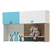 NewJoy Blue Bunny Children s Study Desk Top Unit