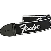 Fender Running Logo Electric Guitar Strap - Black