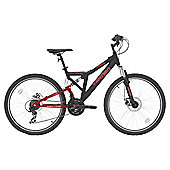 "Vertigo Eiger 26"" Dual Suspension Mountain Bike, 18"" Frame"