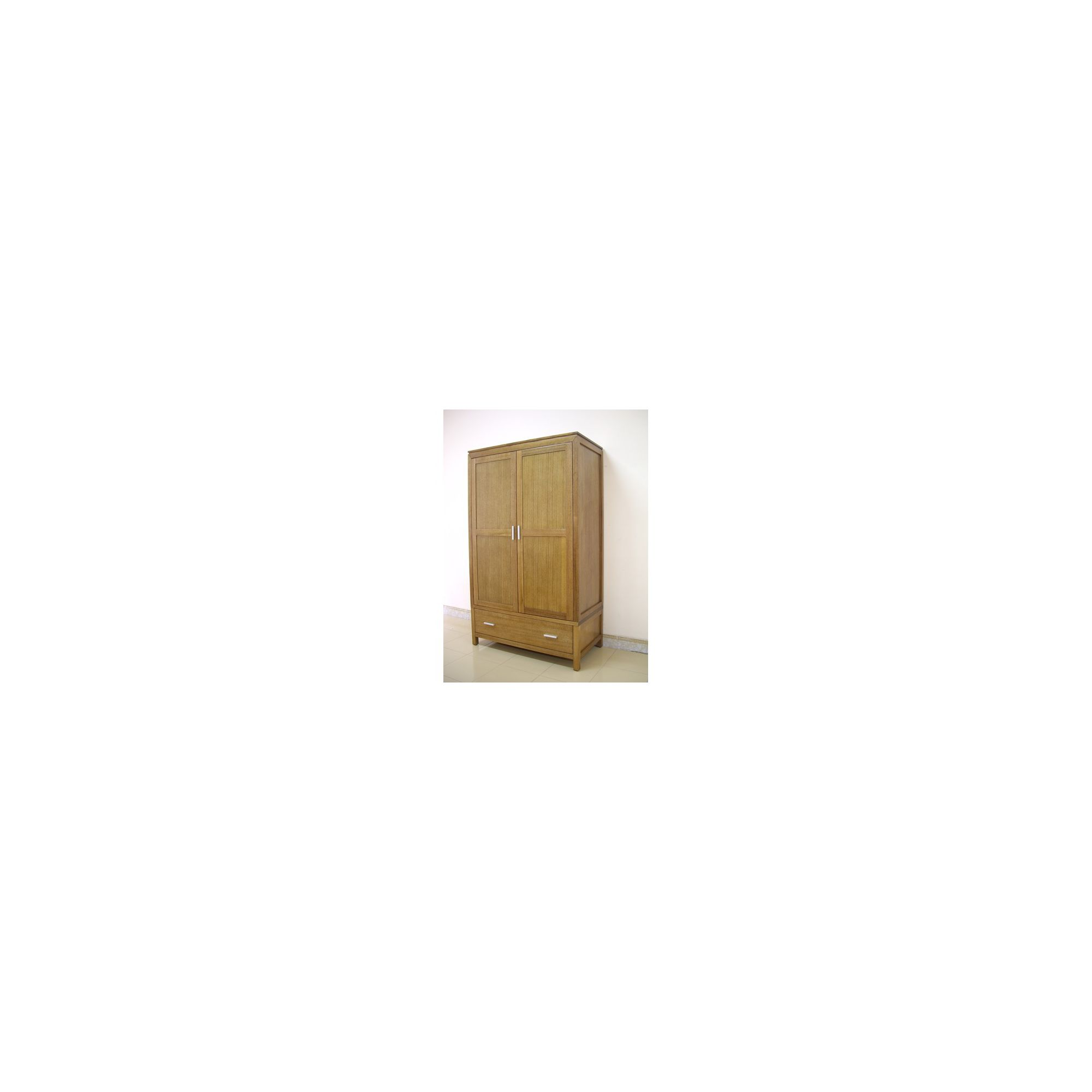 Wildwood Charlotte 2 Door Wardrobe in Eucalyptus at Tesco Direct