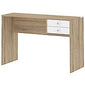 Tvilum Function Plus 80112 Oak and White Laptop Desk