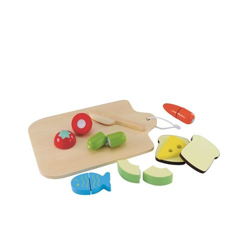 ELC Wooden Cut and Play Food