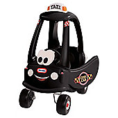 Little Tikes Cozy Coupe Black Cab Ride-On Car