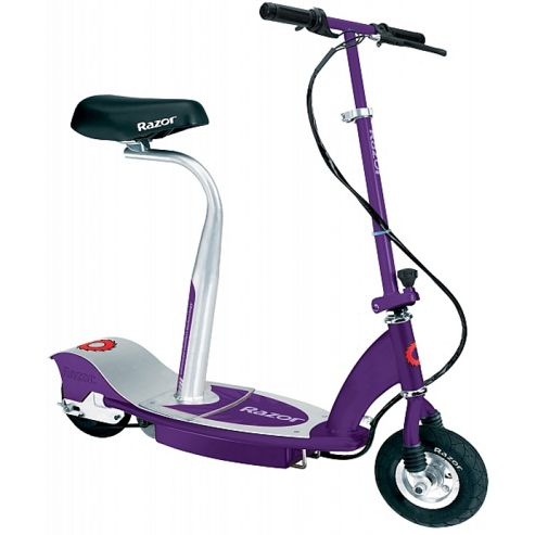 Electric Razor Scooter With Seat Razor E100s Seated Electric