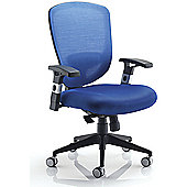 Arista Mesh High Back Task Chair Blue KF72243