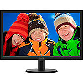 "Philips 243V5LHAB 59.9 cm (23.6"") LED LCD Monitor - 16:9 - 5 ms"