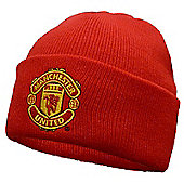 Manchester United FC Knitted Hat - Red