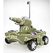 Yed Radio Control Amphibious Super Tank - Green