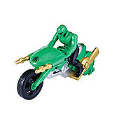 Power Rangers Super Megaforce Green Cycle With Figure
