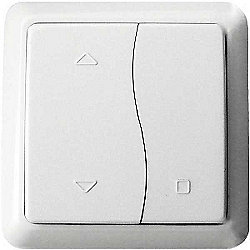 Megaman LightwaveRF 3V On/Off/Stop Switch (White)