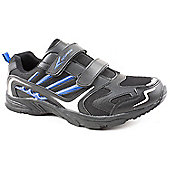 Osaga Mens Stagger Black Active Trainers