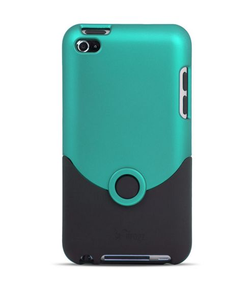iFrogz iPod Touch 4G Luxe Original Case - TEAL/BLACK - Boyz Toys