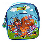 Character Moshi Monsters Blue Backpack