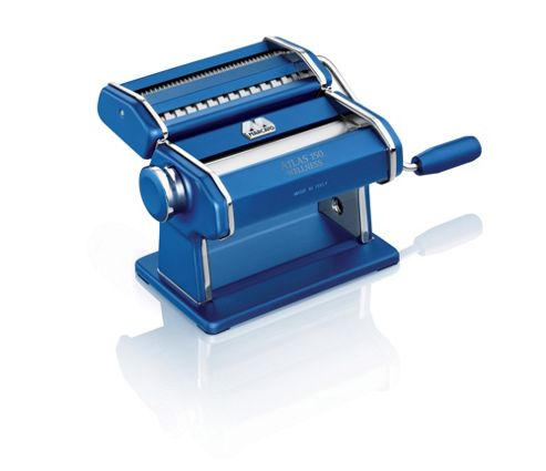 Marcato Atlas 150 Pasta Maker in Dark Blue