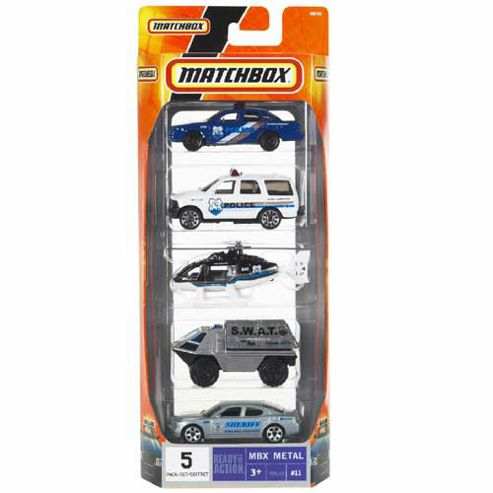 Matchbox Die-Cast Vehicle 5 Pack