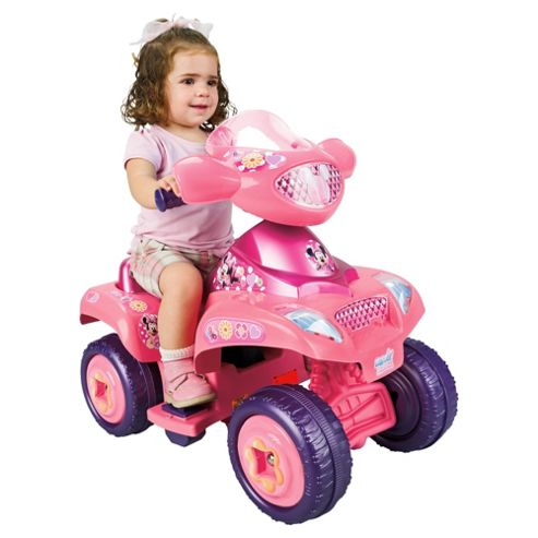 Minnie Mouse Ride-On Quad Bike