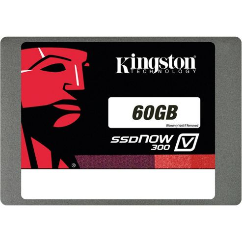 Kingston SSDNow V300 60GB SATA 3 2.5 inch Solid State Drive with Adapter