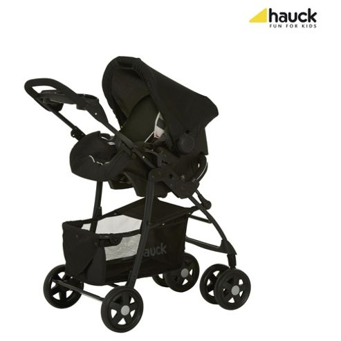 Hauck Shopper Trio Travel System, Rainbow/Black