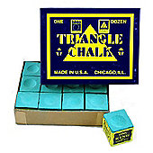 Triangle Billiard Chalk (12 Pieces) - Chalk Colour : Green