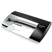 Dymo CardScan Executive Card Scanner V9 - Silver and Black.