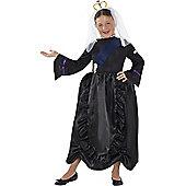 Child Horrible Histories Queen Victoria Costume Large
