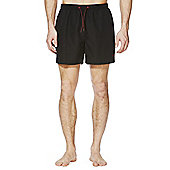 F&F Short Length Swim Shorts - Black