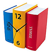 Karlsson Book Paper Table Clock