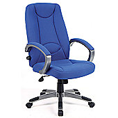 Office Basics Lucca Executive Chair - Blue