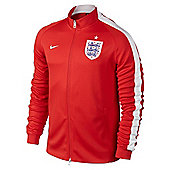 2014-15 England Nike Authentic N98 Jacket (Red) - Kids - Red