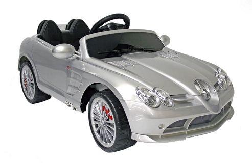 Buy kids electric car mercedes benz slr 722s 12 volt for Mercedes benz kids 12 volt electric car