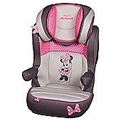 Minnie Mouse High Back Booster Seat Pink Dots