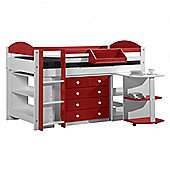 Max Cabin Bed - Red