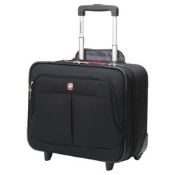 Wenger 2-Wheel Business Case, Black