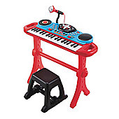ELC Keyboard and Stool - Red