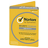 Norton Security 1 USER 10 DEVICE 3.0 (Premium)