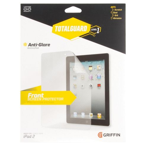 Griffin Total Guard Anti-Glare Screen protector for iPad2