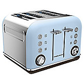 Morphy Richards 242100 Accents 4 Slice Toaster - Azure
