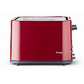 Prestige Eco 4 Slide Toaster - Red