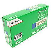FUJI Professional Reversal Film - Velvia 50 RVP 120 - 5pk\n