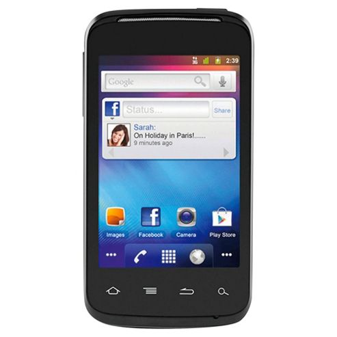 Orange Alcatel One Touch 983 Black