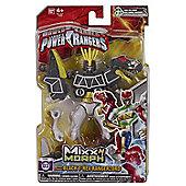Saban's Power Rangers Mixx N Morph Dino Charge Black T-Rex Rangerzord