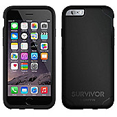 Griffin Survivor Journey Case Black/Grey For iPhone 6/6S