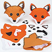 Fox Cushion Sewing Kits for Children (Pack of 2)